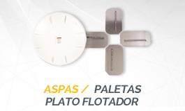 Aspas - Paletas - Plato Flotador